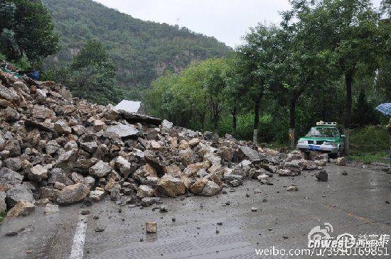 强降雨已致陕西5人死1人失踪 经济损失达6亿元