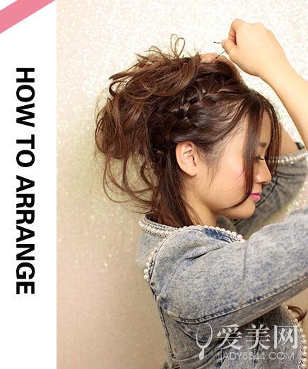 扎发型步骤 一学就会超简单