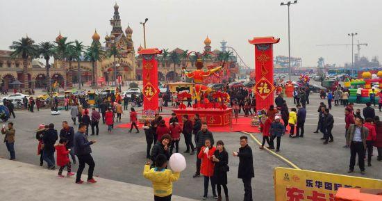 迎来了开园后的第一个春节黄金周