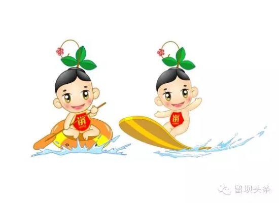 """留坝旅游形象卡通""""福娃""""助推宣传"""
