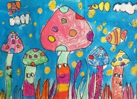 本次儿童绘画比赛的获奖作品