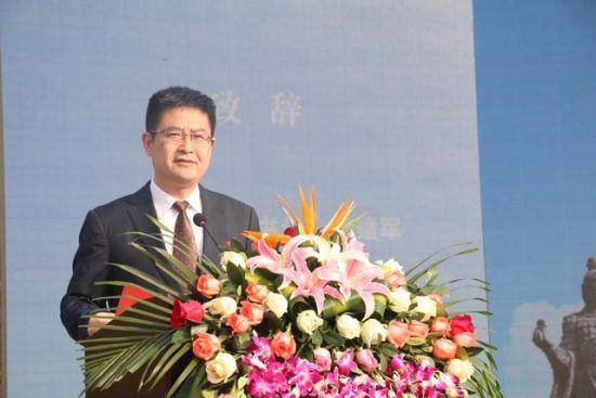 国际学生感知汉文化基地项目正式启动汉中市委书记王建军致辞