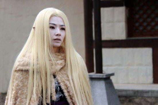 影视剧中白发型男型女 林青霞悲情一夜白头图片