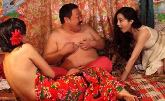 范冰冰曝与夫妇同床剧照 娱乐新闻大事件(图)