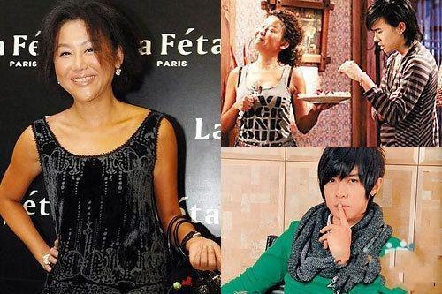 """刘晓庆领衔 大玩""""母子恋""""惨遭痛批的女星"""