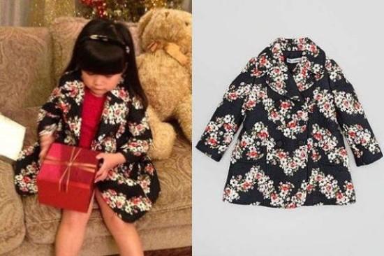 李湘女儿王诗龄一件衣服8000 顶森碟40件(组图)