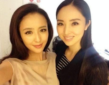 """佟丽娅董璇撞脸 娱乐圈八杆子打不着的""""双胞胎"""""""
