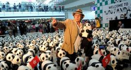 1600纸熊猫亮相香港 宣扬创意加保育