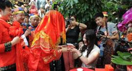 陕北农家的传统婚礼