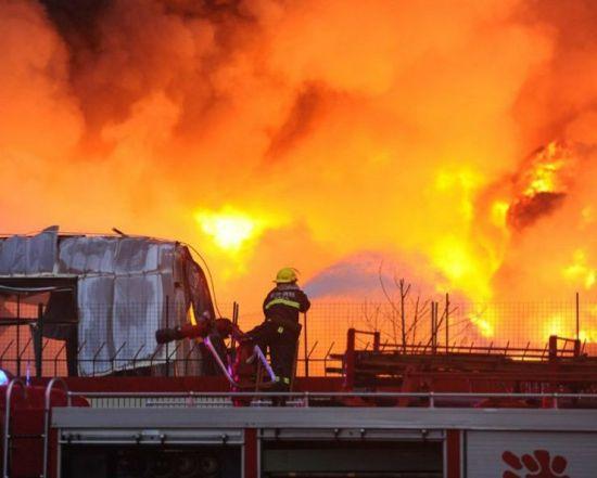 长沙食品厂大火