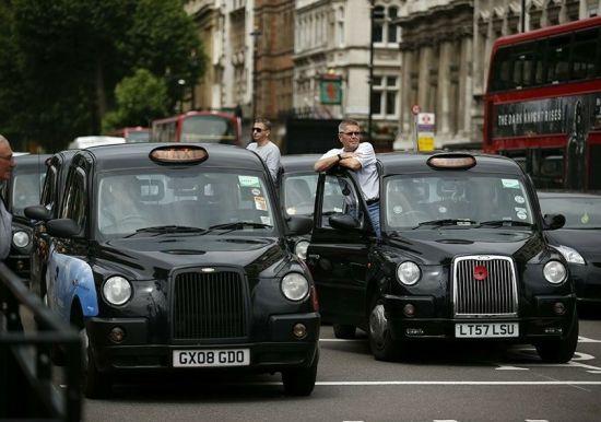 伦敦出租抵制奥运