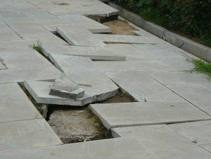 汉城湖地砖开裂