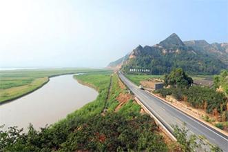 合阳县组沿黄公路