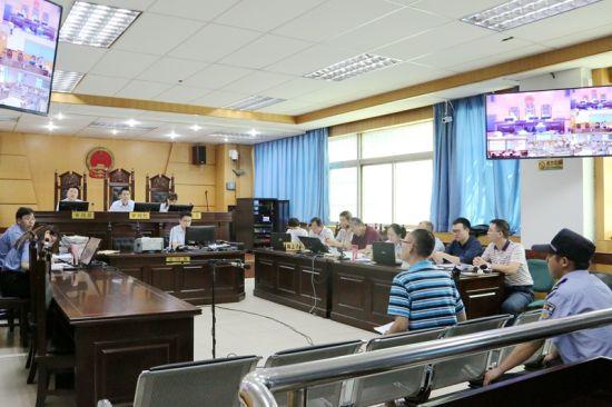 咸阳中院审理一起涉嫌非法经营案