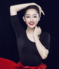 蒋梦婕红唇俏丽写真
