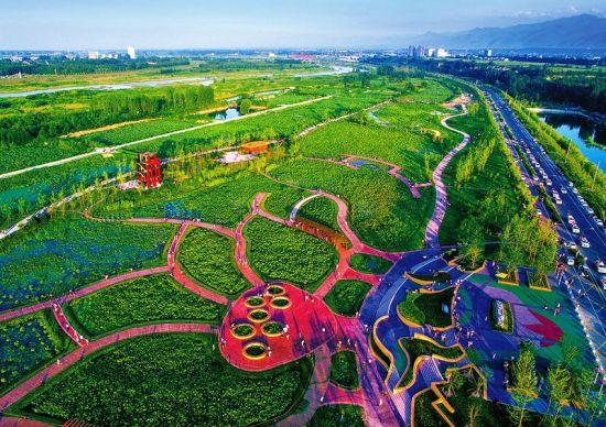 眉县投资6亿多元建设国家湿地公园