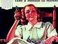 可口可乐复古海报