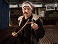 哈萨克斯坦苦行修女举行