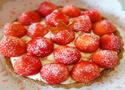 酥脆爽滑草莓奶油派