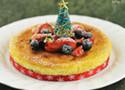 圣诞装原味芝士蛋糕