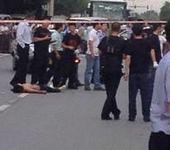 男子劫持人质当场击毙