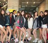 台湾少女发起无裤日活动