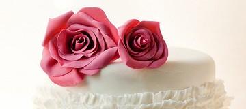 超迷人的浪漫玫瑰花蛋糕
