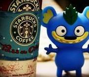 无敌诱惑的Starbucks各种造型