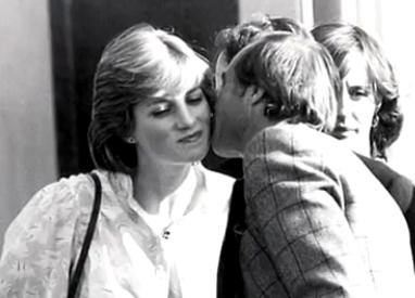 戴安娜王妃与神秘男子亲密照片曝光
