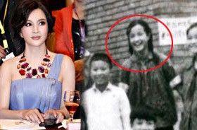 刘晓庆13岁绝版照 真实年龄遭质疑