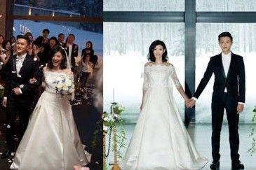 43岁苏慧伦告别剩女 北海道浪漫出嫁