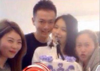 徐若瑄39岁庆生老公陪伴 两继女亮相