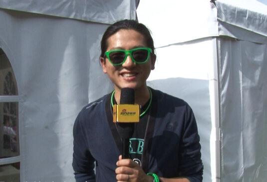草莓音乐节 歌手彭坦专访