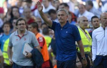 西甲-穆里尼奥告别 皇马4比2进球连续4年破百