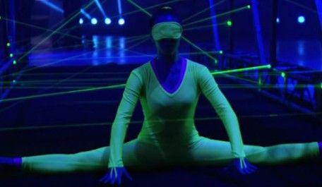 最强大脑 X女特工穿越激光线