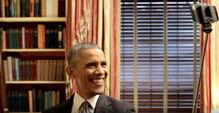 奥巴马为做宣传大玩自拍