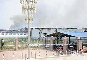 吉林禽业公司厂房因液氨泄漏引发爆炸