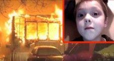 8岁男孩火海救出6名亲人后遇难