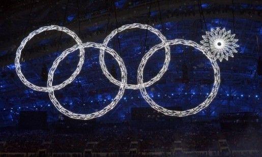 开幕式奥运五环变四环 网友集体吐槽