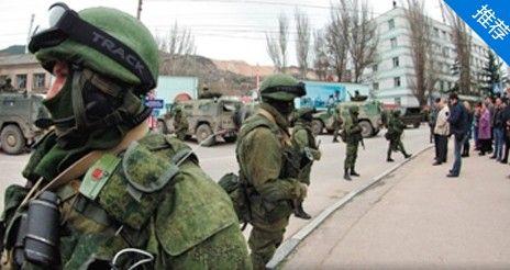 实拍俄军包围乌克兰军事基地 近距对峙
