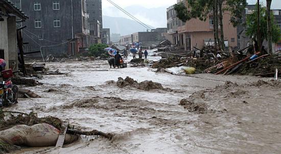 陕西汉中暴雨洪灾与采石场过度开采有关
