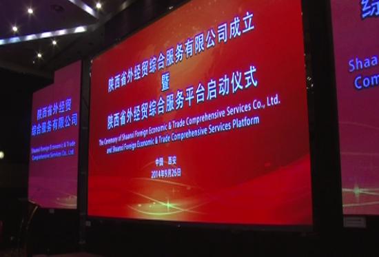 陕西省外经贸综合服务有限公司成立