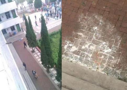 汉中南郑大河坎中学女教师跳楼警方介入调查
