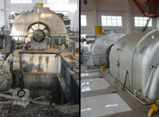 超800万元发电设备爆炸 内部现不合格标签