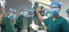 《面对面》——手术室里的自拍