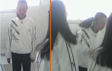 第一封面 女生厕所被同学轮扇耳光