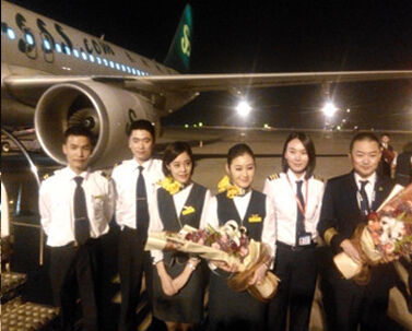 西安直飞日本大阪昨首航
