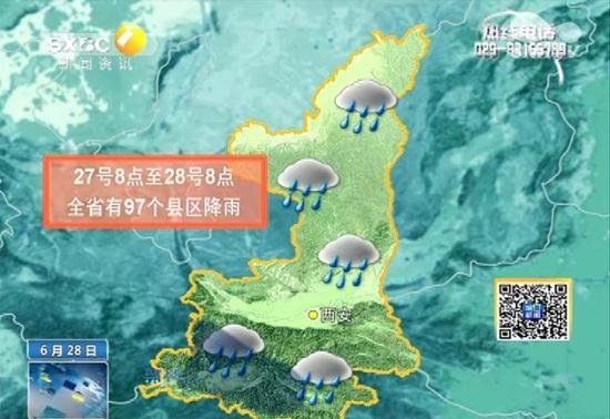 今明两天雨一直下 下周我省总体天气晴好