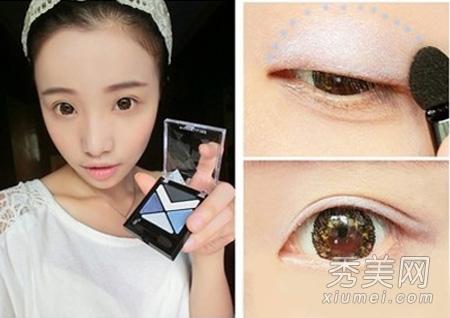 眼妆的画法步骤 如何画眼妆视频 如何画